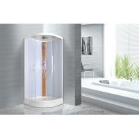 Wholesale KPN52036 Curved Corner Shower Units , 900 x 900 x 2150mm Glass Shower Cabin from china suppliers