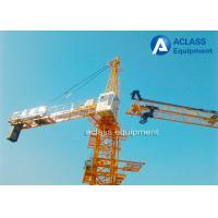Wholesale 1.0 ton Tip Load 60m Jib Hammerhead Tower Crane , Overhead Construction Equipment from china suppliers