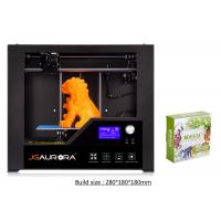 Wholesale Professional Black Home Use 3D Printer Desktop Heating Bed SD Card 8GB from china suppliers