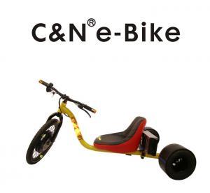 Wholesale Steel Frame Motorized 3 Wheel Drifter Trike Bike 1500 Watt 48 Voltage from china suppliers