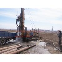 Quality 600m crawler mounted  Hydraulic borehole drilling machine with big rotation torque for sale