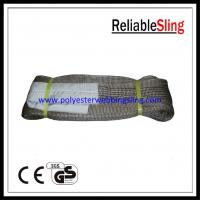 Wholesale European standard 6T polyester Flat Webbing Sling , boat lift slings from china suppliers