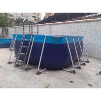 Wholesale PVC Tarpaulin Kids Inflatable Swimming Pools With Durable Support from china suppliers
