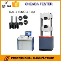 Wholesale 1000kn Hydraulic Universal Testing Machine +Steel  Tensile Strength Testing Machine+Bolt Shear Strength Testing Machine from china suppliers