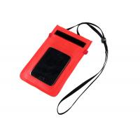 Buy cheap PVC Waterproof Bags for Cell Phone Surfing Dry Drawstring Pouch Phone Carrying Case from wholesalers