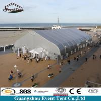 Wholesale Large Aluminum Frame TFS Curved Tents Outdoor Warehouse Tent 75kg/Sqm from china suppliers