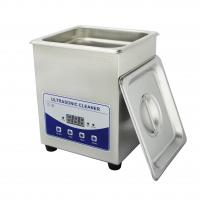 Wholesale Large Capacity Benchtop Ultrasonic Cleaner 2 liter Timer Degas for Lab from china suppliers