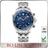 Buy cheap Sapphire Quartz Movement 10atm Stainless Steel Sports Watch Mens Quartz Watch from wholesalers