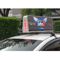 Quality Taxi rooftop digital signage Ocolour LED Taxi Rooftop Digital Signage for sale