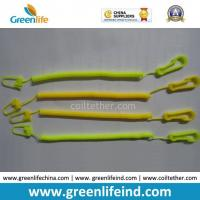 Wholesale Light Weight Slim Coiled Cheap Bungee Cord for Connecting Function Yellow color from china suppliers