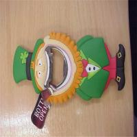 Wholesale 2014 new designed lovely matel +  silicone bottle openers with man shapes for kitchen from china suppliers