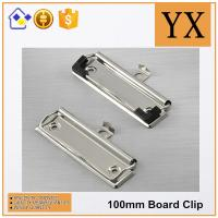 Wholesale Bright Nickel Plate clipboard detachable clip high quality clipboard clip from china suppliers