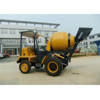 Wholesale 1.5 tons Dumper Chassi Portable Concrete Mixers , 680L Drum Capacity Self Loading Concrete Mixture Machine from china suppliers