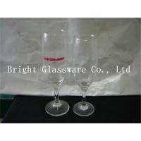 Wholesale Clear glass champagne cup, wine goblet glass for party from china suppliers