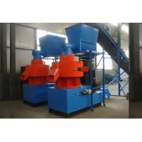 Wholesale Small Pellet Machine Wood Pelletizer Machine , Double Loop Ring Mold from china suppliers