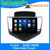 Quality Ouchuangbo auto radio dvd stereo android 6.0 for Chevrolet Cruze with BT 3g wifi gps navigation 4*45 Watts amplifier for sale