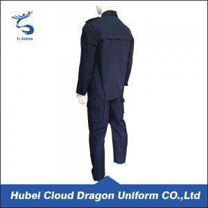 Quality Breathable Patrol Duty Uniform For Men , Custom Security Uniform Shirts for sale