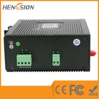 Wholesale 7 Megabit TX + 1 megabit FX Industrial Managed Ethernet Switch , web smart fastest network switch from china suppliers