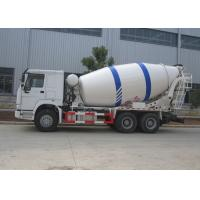Wholesale Sinotruk HOWO 10M3 Ready Mix Truck , 10CBM Self Loading Mixer Truck With Mixer Drum from china suppliers
