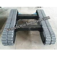 drilling rig rubber track undercarriage