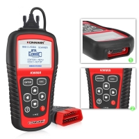 China Auto Diagnostic Tool For 12V Trucks Cars Engine Scanner For OBDII Cars KW808 on sale