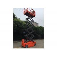 Wholesale 8m - 16m Steel Automatic Self Propelled Work Platform 300kg For Exhibition Hall from china suppliers
