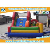 Wholesale Kid Climb Blow Up Bounce House Slide N Slip Durable Digital / Silk Printing from china suppliers