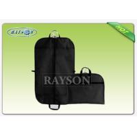 Wholesale Disposable Reusable Non woven Suit Cover , Folded Suit Non woven Garment Bags from china suppliers
