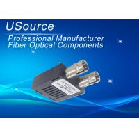 Wholesale 1.25 Gigabit 1X9 Optical Transceiver Dual ST / SC Wavelength 1550nm 80KM Distance from china suppliers