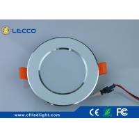 Quality Custom Led Ceiling Recessed Lights , SMD LED Downlight Recessed Lighting For Bathrooms for sale