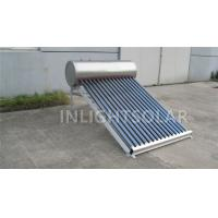 Wholesale 80L Aluminum support stainless steel low pressure solar water heater from china suppliers