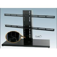 Wholesale Black Expansion LCD Flat Screen TV Floor Stand Smart Degined 600 X 330 mm from china suppliers