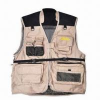 Wholesale Fishing Vest, Ideal for Fishing, Photography, Hiking and Hunting, Customized Colors are Welcome from china suppliers