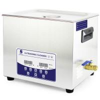 Wholesale 10L Stainless Steel Digital Timer Heater Dental instruments ultrasonic cleaner from china suppliers