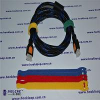 Wholesale Logo Printable Hook And Loop Straps Wire Velcro Straps Various Shape from china suppliers