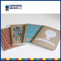 Wholesale Promotion saddle stitch Custom Notebook Printing ,  recycled paper notebooks from china suppliers