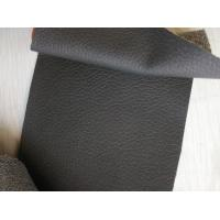 Wholesale 0.8MM - 1.4MM Thickness Textured Leather Fabric Durable For Handbags from china suppliers