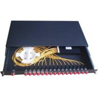 """Wholesale 1 x 16 Fiber Distribution Box 19"""" Rack Type For FTTH Network from china suppliers"""