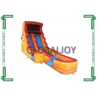 Quality Gaint Commercial Grade Inflatable Water Slide With Pool For Adult  inflatable water slide for sale