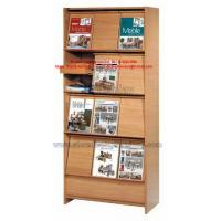 Wholesale Cheap Home office furniture or Library Bookcase rack made by MDF in KD structure easy shipping from china suppliers