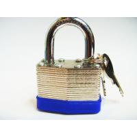 Wholesale Steel laminated padlock brass cylinder from china suppliers