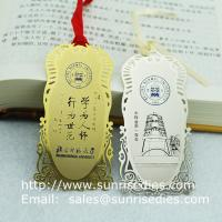 Print etched bookmarks for reading