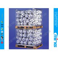 Wholesale Heavy Duty Wire Dump Bins , Retail Dump Bins Stackable Pallet Cages from china suppliers