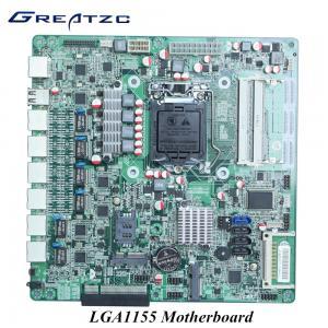 Wholesale 6 LAN 4 SATA CF 6 USB Mini LGA 1155 ATX Motherboard 2 COm 2 DDR3L Wifi 3G from china suppliers