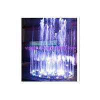 Quality 2m Diameter SS304 Music Water Fountain With Control Cabinet RGB LED Light Dancing for sale