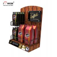 Wholesale Lure Clients Counter Display Racks Coffee Bag Promotional Retail Food Display Countertop from china suppliers
