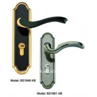 Wholesale Antiqu style waterproof hotel bathroom door lock, mortise cylinder handle lock from china suppliers