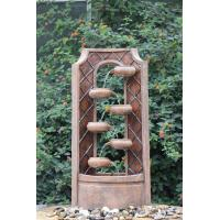 Wholesale Classical Multi Tiered Outdoor Fountains In Fiberglass / Resin Material from china suppliers