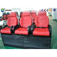Wholesale Red Color Luxury Seats 5D Movie Theater For Mobile Truck / Museum / Park from china suppliers