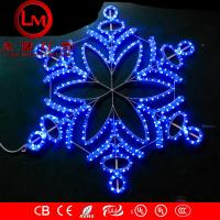 Wholesale LED snowflaks christmas lights from china suppliers